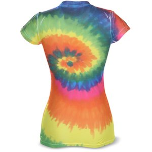 Tie-Dye Junior Fit Performance T-Shirt - Moondance Image 1 of 1