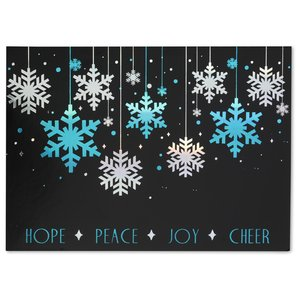 Hope, Peace, Joy and Cheer Greeting Card