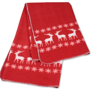 Winter Fleece Blanket Image 2 of 2