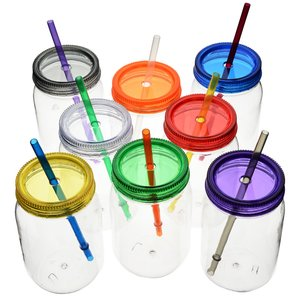 Color Palette Mason Jar Tumbler - 28 oz. Image 1 of 1