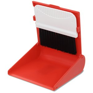 Desk Top Broom and Dust Pan - Closeout Image 4 of 4