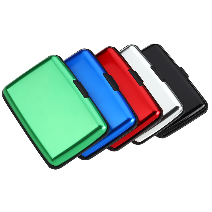 4imprint.com: Aluminum Card Case 120060: Imprinted with your Logo