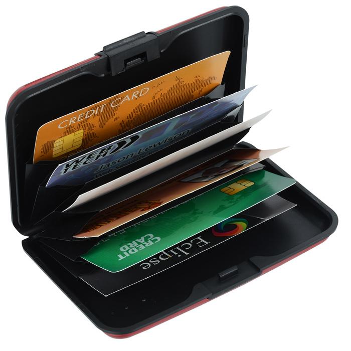 the best attitude 40d66 a2f1d Aluminum Card Case
