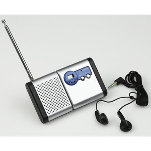Econo Detachable FM Radio - Closeout Image 1 of 2