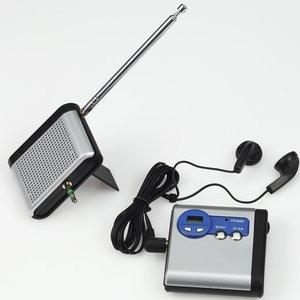 Econo Detachable FM Radio - Closeout Image 2 of 2
