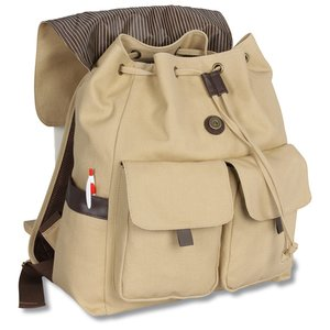 Princeton Canvas Backpack