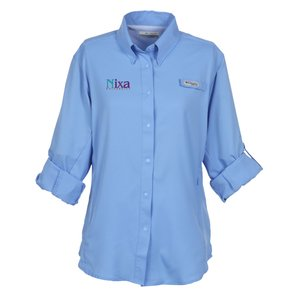 Columbia Tamiami II Roll Sleeve Shirt - Ladies' Image 2 of 2