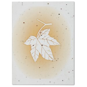 Maple Leaf Seeded Greeting Card Set Image 4 of 4