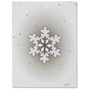 Snowflake Seeded Holiday Card Set Image 4 of 4