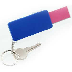 Retractable Nail File Key Tag - Closeout Image 2 of 3