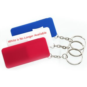 Retractable Nail File Key Tag - Closeout Image 3 of 3