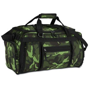 Navigator Weekender Duffel - Camo - Embroidered Image 1 of 2