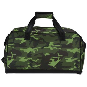 Navigator Weekender Duffel - Camo - Embroidered Image 2 of 2