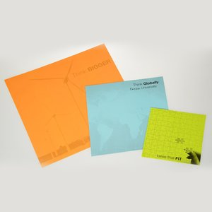 "Post-it® Custom BigPads - 11-3/4"" x 11-3/4"""