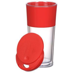 Color Band Travel Tumbler - 16 oz. - 24 hr