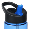 View Image 4 of 4 of In The Groove Bottle with Two-Tone Flip Straw Lid - 24 oz.