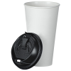 View Extra Image 1 of 2 of Insulated Paper Travel Cup with Lid - 20 oz. - Low Qty