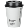 View Extra Image 1 of 2 of Insulated Paper Travel Cup with Lid - 8 oz. - Low Qty