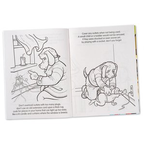 Coloring Book with Mask - Flash the Firefighter Image 1 of 7