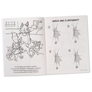 Coloring Book with Mask - All Hallows Eve Fun Image 5 of 5