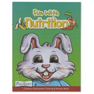 Coloring Book w/Mask - Fun with Nutrition Image 1 of 5