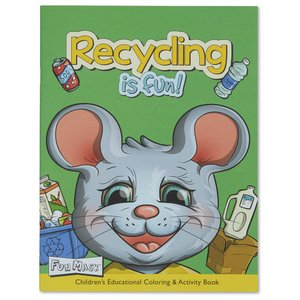 Coloring Book with Mask - Recycling is Fun Image 1 of 5