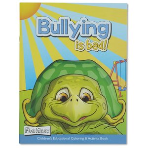 Coloring Book w/Mask - Bullying is Bad Image 1 of 5