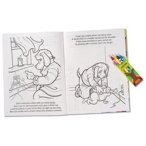 Coloring Book with Mask & Crayons - Flash the Firefighter Image 2 of 7