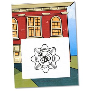 Coloring Book with Mask & Crayons - Flash the Firefighter Image 6 of 7