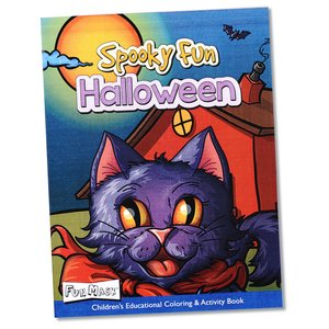Coloring Book with Mask & Crayons - Spooky Fun Halloween Image 6 of 7