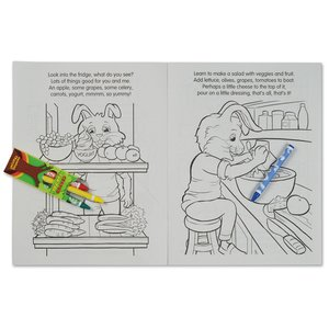 Coloring Book w/Mask & Crayons - Fun with Nutrition Image 4 of 6