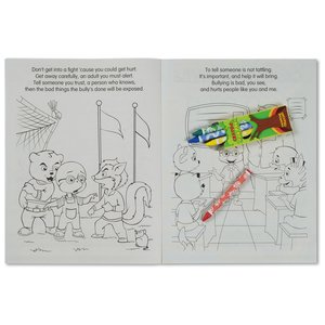 Coloring Book with Mask & Crayons - Bullying is Bad Image 4 of 6