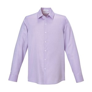 Refine Wrinkle Free Royal Oxford Dobby Shirt - Men's