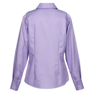 Refine Wrinkle Free Royal Oxford Dobby Shirt - Ladies Image 1 of 2