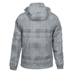 Brushstroke Hooded Insulated Jacket - Men's Image 1 of 1