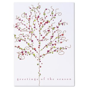 Baubles & Branches Greeting Card Image 2 of 3
