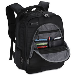 Kenneth Cole Tech Deluxe Laptop Backpack - Embroidered Image 1 of 2