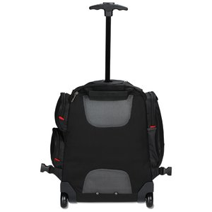 elleven Wheeled Security-Friendly Laptop Backpack - Emb Image 1 of 3