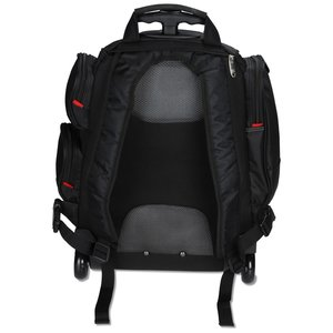 elleven Wheeled Security-Friendly Laptop Backpack - Emb Image 2 of 3