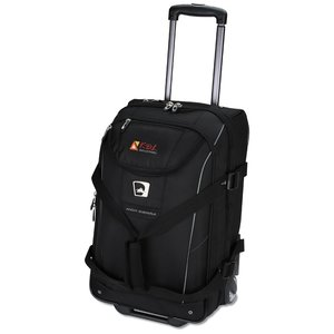 High Sierra Elite Carry-On Wheeled Duffel - Embroidered Image 1 of 3