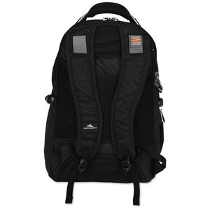 High Sierra Elite Fly-By Laptop Backpack - Embroidered Image 1 of 5