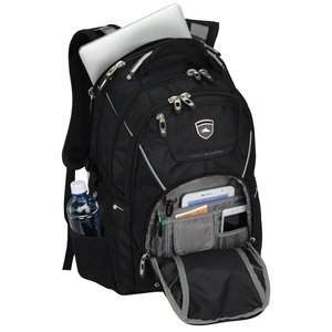 High Sierra Elite Fly-By Laptop Backpack - Embroidered Image 4 of 5