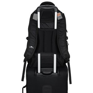 High Sierra Elite Fly-By Laptop Backpack - Embroidered Image 5 of 5