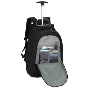 High Sierra Chaser Wheeled Laptop-Backpack - Embroidered Image 1 of 2