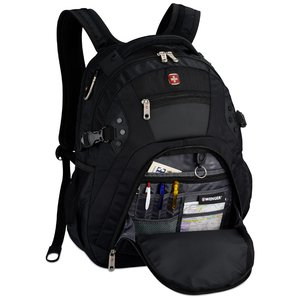 Wenger Edge Laptop Backpack - Embroidered Image 2 of 3