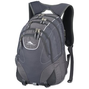 High Sierra Vortex Fly-By Laptop Backpack - Embroidered Image 1 of 3