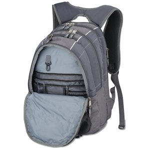 High Sierra Vortex Fly-By Laptop Backpack - Embroidered Image 2 of 3