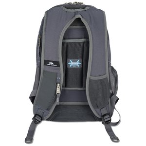 High Sierra Vortex Fly-By Laptop Backpack - Embroidered Image 3 of 3