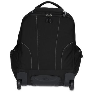 High Sierra Powerglide Wheeled Laptop Backpack - Embroidered Image 1 of 3