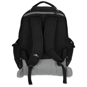 High Sierra Powerglide Wheeled Laptop Backpack - Embroidered Image 2 of 3